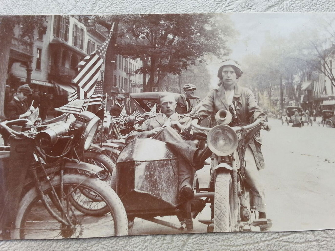 My Great-Grandmother, the Original Moto Babe